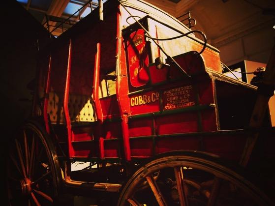 Historic Coach, Toitū Otago Settlers Museum, Dunedin, New Zealand via Instagram