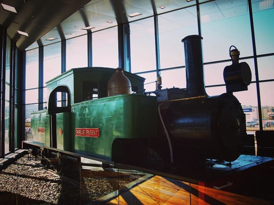 Steam Locomotive, Toitū Otago Settlers Museum, Dunedin, New Zealand via Instagram