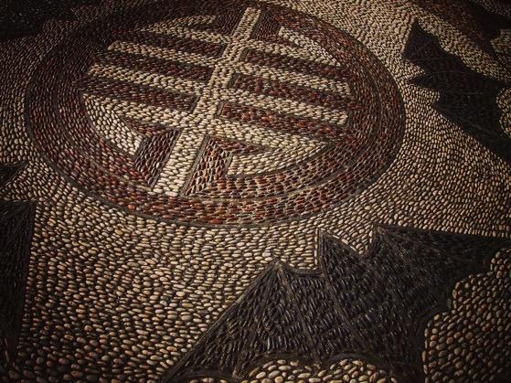 Stone Mosaic, Dunedin Chinese Garden via Instagram
