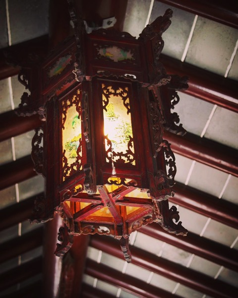 Lamp, Dunedin Chinese Garden via Instagram