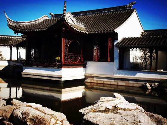 Dunedin Chinese Garden, Dunedin, New Zealand via Instagram