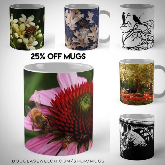 25% Off All Mugs Today! - Day 2 - 12 Days of Promos from Redbubble