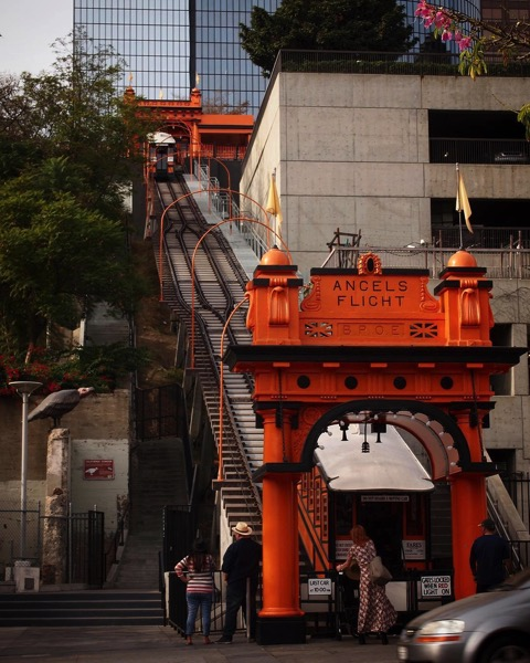 My Los Angeles 28 - Angels Flight via Instagram