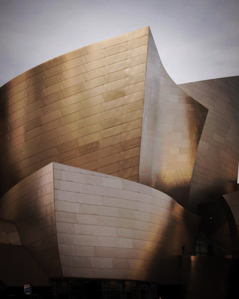 My Los Angeles 31 - The Walt Disney Concert Hall via Instagram