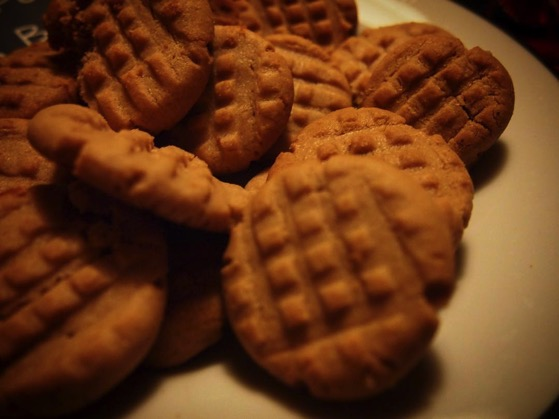 Peanut Butter Cookies via Instagram