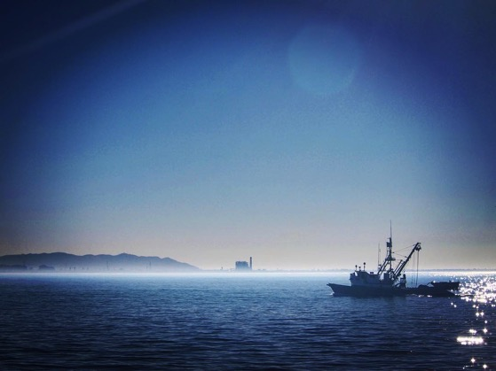 Fishing boat on way to Santa Cruz Island  via Instagram