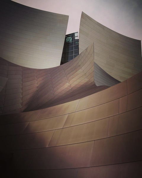 My Los Angeles 33 - The Walt Disney Concert Hall via Instagram