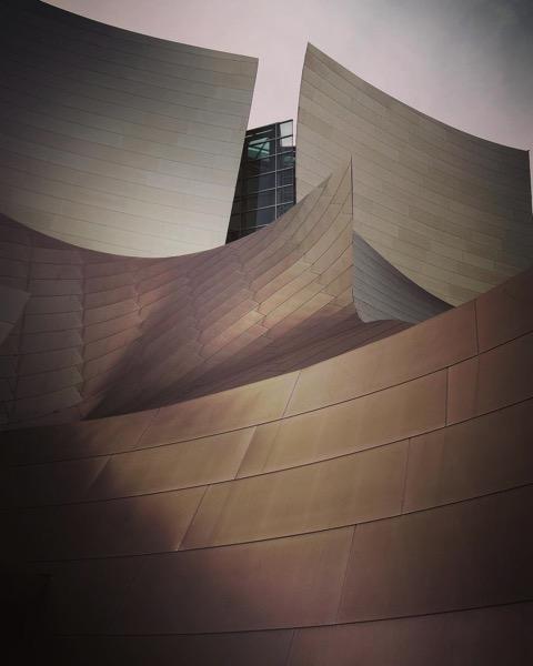 My Los Angeles 33 - The Walt Disney Concert Hall via Instagram