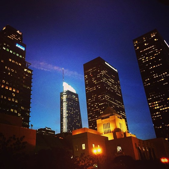 My Los Angeles 40 - Downtown LA with Central Library via Instagram