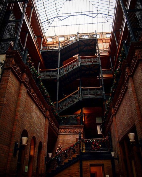 My Los Angeles 43 - Bradbury Building, Downtown Los Angeles via Instagram