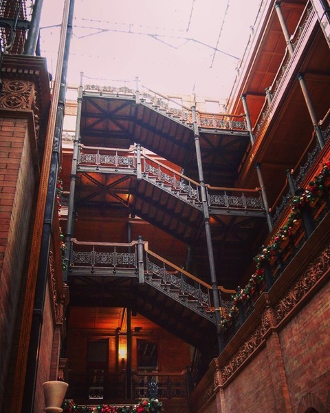 My Los Angeles 44 - Bradbury Building, Downtown Los Angeles via Instagram