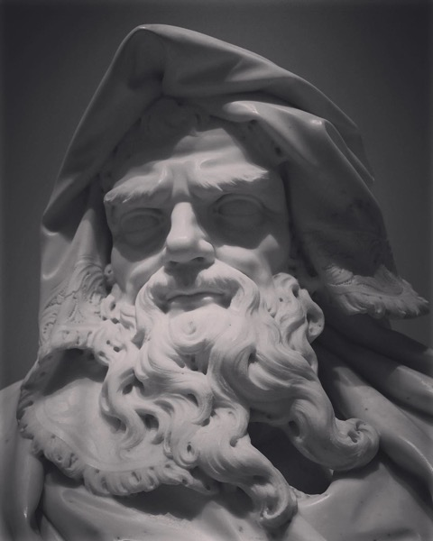 Personification of Winter, Getty Center via Instagram
