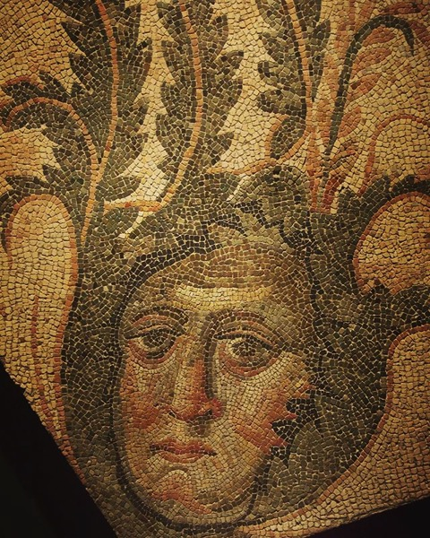 Roman Mosaic at the Getty Villa via My Instagram