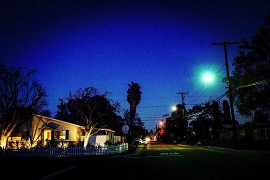 My Los Angeles 54 - Nighttime in the Neighborhood via My Instgram