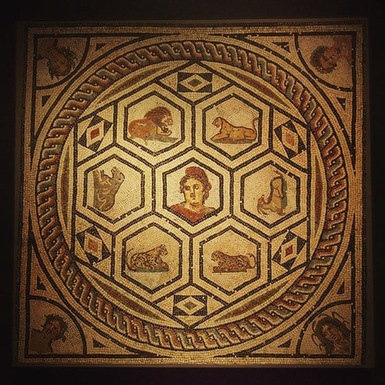 Roman Floor Mosaic via My Instagram
