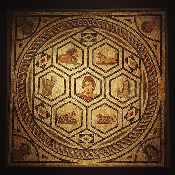 Roman Floor Mosaic via My Instagram