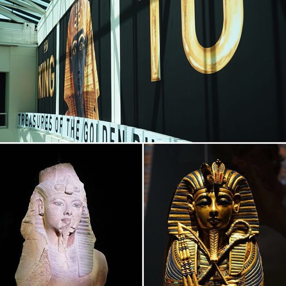 King Tut: Treasures of the Golden Pharaoh at California Science Center