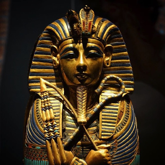 King Tut: Treasures of the Golden Pharaoh Detail via My Instagram