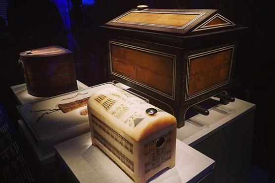 Wooden and Alabaster Boxes via Instagram