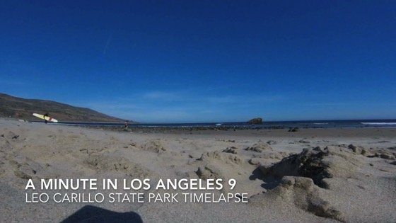 Leo Carillo State Beach - A Minute in Los Angeles 9 from My Word [Video]