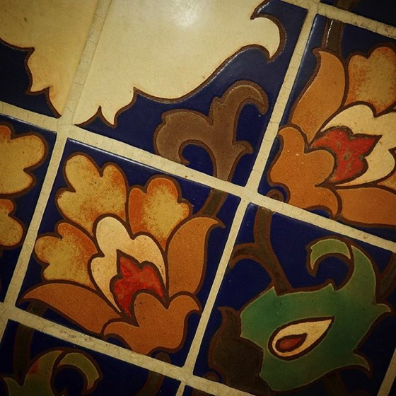 My Los Angeles 58 - Ceramic Tile Detail, LA Central Library
