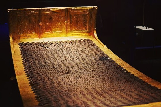A Golden Bed for the Pharaoh via My Instagram