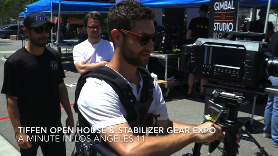 Tiffen Open House & Stabilizer Gear Expo - A Minute in Los Angeles 11 from My Word