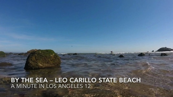 By The Sea: Leo Carillo State Beach - A Minute in Los Angeles 12