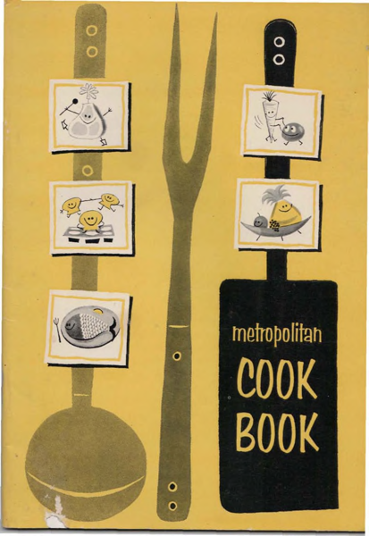 Metro cookbook cover