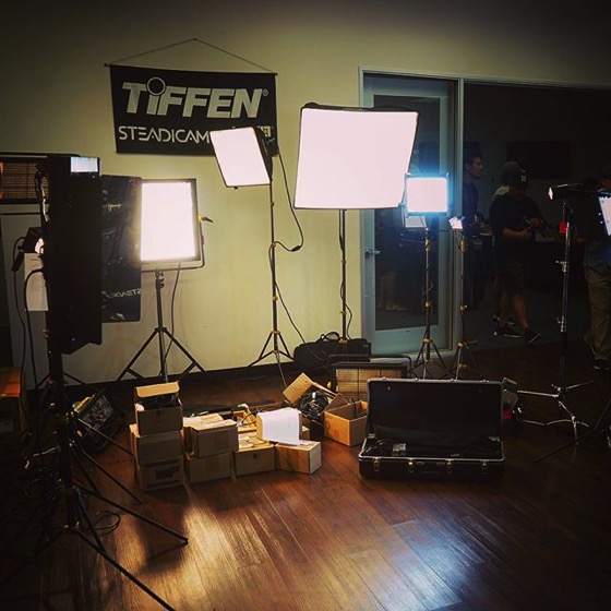 Tiffen Open House & Stabilizer Gear Expo via My Instagram
