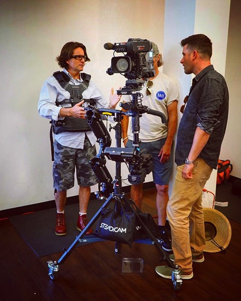 Steadicam Demo via My Instagram