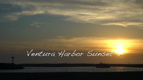 Ventura harbor sunset 3