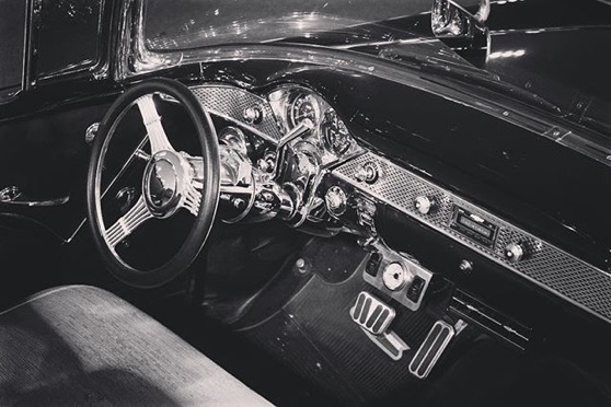 Interior - Classic Car 10 via My Instagram