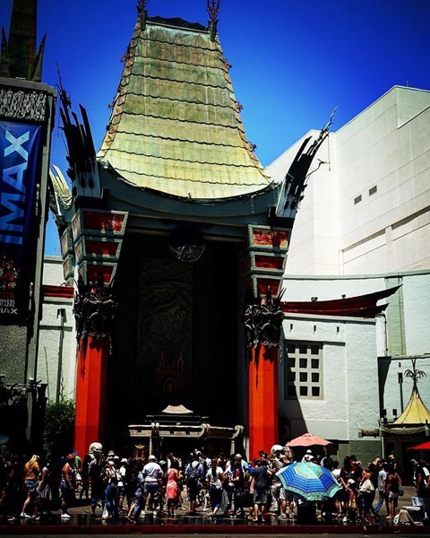 Grauman's Chinese Theater, Hollywood, California via My Instagram