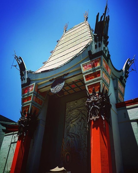 Grauman's Chinese Theater Decor -- via Instagram