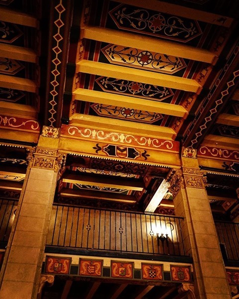 Roosevelt Hotel Interior 3, Hollywood, California — Follow Me On Instagram!