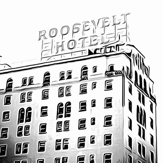 Roosevelt Hotel, Hollywood, California via My Instagram