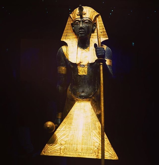 Guardian Ka statue (#22) of the king via My Instagram