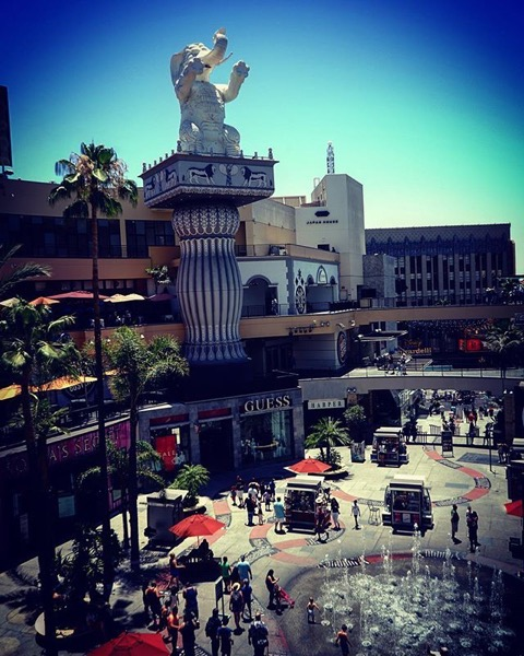 My Los Angeles 70 - Hollywood & Highland via My Instagram
