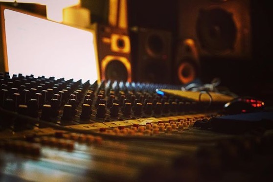 In the studio 4... Readymix Music Recording Studio via My Instagram