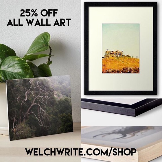 25% OFF All Wall Art - Dress Up Your Home Today!