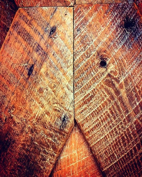 Wooden Barn Siding Turned Abstract via MyInstagram