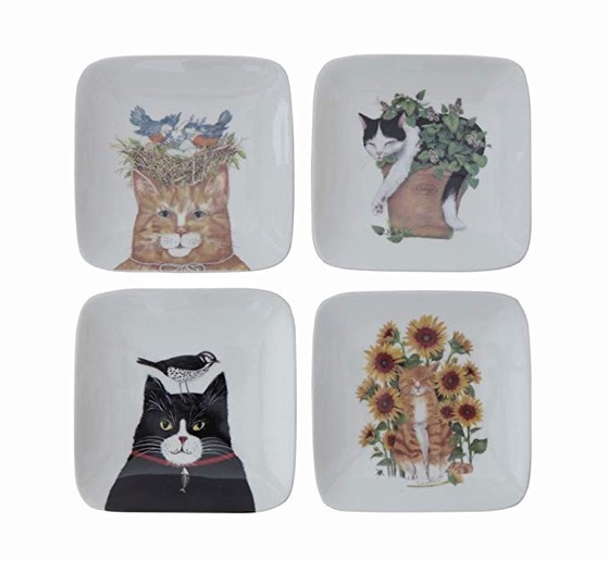 Creative plates cats