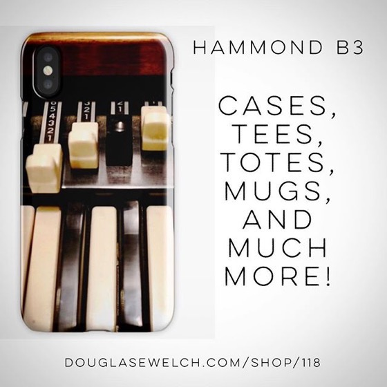 Get Your Groove On with these Hammond B3 iPhone Cases and Much More!