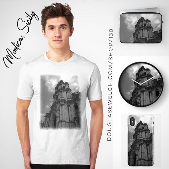 San Giorgio Church, Modica, Sicily - Tees, iPhone Cases, Laptop Sleeves and Much More!