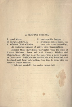 Historical Cooking Books: Woman's City Club cook book by Woman's City Club of Chicago (Ill.). Library Committee - 9 in a series