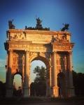 Arco della Pace MIlano Italy via Instagram