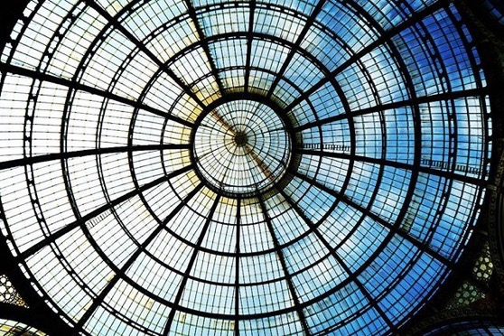 Glass Roof, Galleria Vittorio Emanuele II in Milano via Instagram