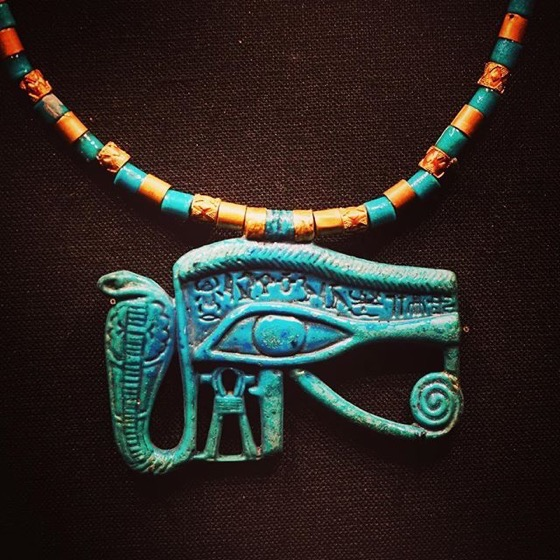 Necklace, King Tut: Treasures of the Golden Pharaoh via Instagram