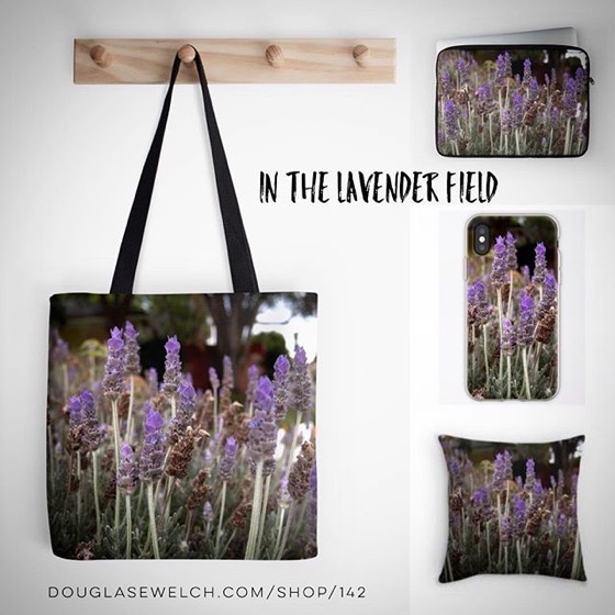 Lie down among the lavender - Totes. pillow, iPhone cases and Much More!